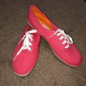 Coral Keds Tennis Shoes